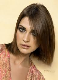 Structured Bob Hairstyles Structured Bob Softened By A Long Slightly Wispy Strand