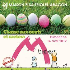 che aux œufs et spectacle à la maison elsa triolet aragon de saint arnoult en yvelines