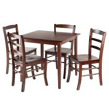 Amazoncom Winsome 94532 Groveland Square Dining Table 4 Chairs