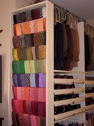 Belt Closet Organizer Bedroom Organization Ideas Store Walls And Tie Rack 7