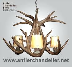 white antler lighting reion tail chandelier small med chandeliers 2 white faux antler chandelier