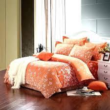 orange bedding set burnt orange california king bedding sets