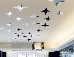 Small Picture Fashion Home Decoration Mirrow Surface Stars Wall Sticker DIY 3D
