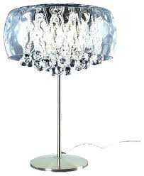 black crystal chandelier style table lamp large size of shade lamps pink crystals