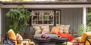 outdoor furniture decor. Orange Outdoor Furniture Decor