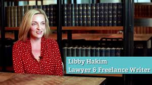 how part time lawyer libby hakim carved out a successful career as  libby hakim had a simple goal to see her byline in a magazine or newspaper after completing a course at the n writers centre