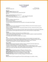 Another Word For Work Experience First Resume Out Of College Template Example For Highschool Student