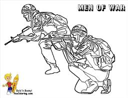 Sturdy Army Coloring Pages Soldier At Getcolorings Com Free Printable