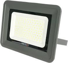 Светодиодный <b>прожектор Wolta</b> 5500K, IP 65,цвет серый, слим ...
