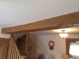 oak beams to clad rsj s beam uk throughout wood covers decor 2