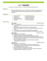 Shift Manager Resume Enchanting Best Restaurant Shift Manager Resume Example LiveCareer