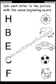 They were developed with preschool and kindergarten children in mind. Beginning Sound 12 Worksheets Free Printable Worksheets Worksheetfun
