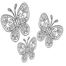 Disegni Da Colorare Primavera Farfalla Pertinente A Disegni Di