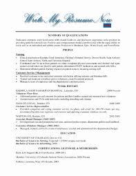Volunteer Work On Resume How To List Volunteer Work On Resume Sample Fresh Volunteer Resume 17