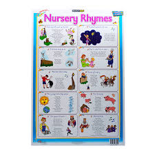 Marlin Kids Chart Nursery Rhymes Freedom Stationery