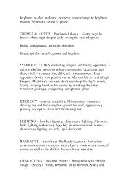 vertigo essay notes