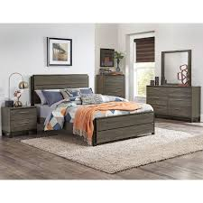 Gray Black Contemporary 40 Piece King Bedroom Set Oxon RC Delectable Black Contemporary Bedroom Set