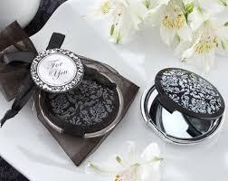 black ceremonies and wedding souvenir gift makeup mirror for
