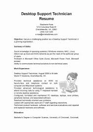 47 Luxury Photos Of Resume format for Desktop Support Engineer