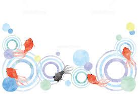 夏のイメージ 金魚 イラスト素材 5149351 無料 フォトライブラリー