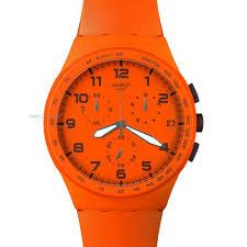 """men s swatch wild orange chronograph watch suso400 watch shop comâ""""¢ mens swatch wild orange chronograph watch suso400"""