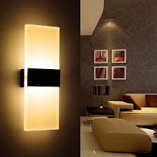 wonderful led wall sconces indoor led outdoor wall sconce wall yellow lamps and cream sofa and
