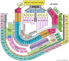 Progressive Field Seating Chart For Concerts Progressive Field Tickets Progressive Field Seating Chart