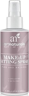 artnaturals makeup setting spray long lasting all day extender all natural with aloe vera