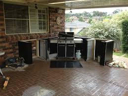 Various Weber Genesis Built Into Outdoor Kitchen Aussie BBQ Forum At  Australia .