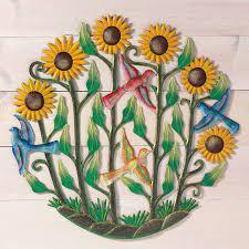 sunflower garden wall art decor