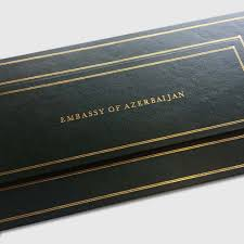 hand bound leather table seating planner