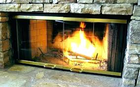 fieldcrest fireplace doors extra ll pleasant hearth ascot small alpine ss n fireplaces electric