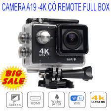 Camera Hành Trình 1080 Sports, Camera 4K Ultra HD hành trình xe máy CHỐNG  NƯỚC, Chống Rung Lấy Nét Tự Động - NHẬP KHẨU
