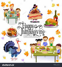 family turkey dinner clipart. Wonderful Clipart Happy Multicultural Table Thanksgiving Stock Vector Family Turkey  Dinner Clipart Throughout Family Turkey Dinner Clipart P