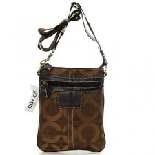 Coach Legacy Swingpack In Signature Small Coffee Crossbody Bags AVJ