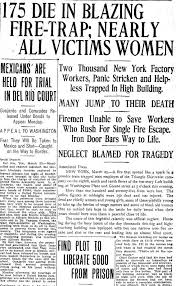 best news headlines images newspaper headlines  triangle shirtwaist factory fire