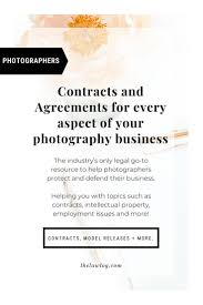 Photography Contracts Photography Contract Templates Agreement Release Form