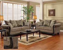 traditional living room furniture. Dream Java Chenille Sofa \u0026 Love Seat Living Room Furniture Set Wood Trim Pillows | EBay Traditional A