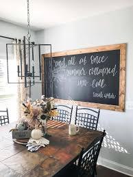 diy framed chalkboard wall tutorial a hosting home