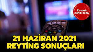 21 Haziran 2021 reyting sonuçları açıklandı! Maraşlı, Aşkın Tarifi,  Kahraman Babam reyting sıralaması!
