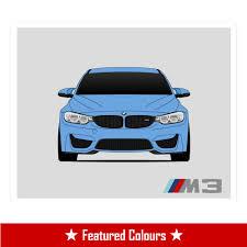 BMW Convertible bmw custom order : BMW F80 M3 Print – Custom Car Posters