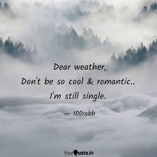 Dear Weather Dont Be So Quotes Writings By Saurabh Kushwaha