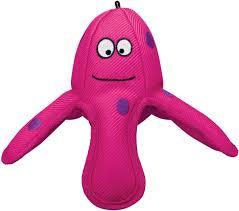 <b>Игрушка</b> для собак <b>Kong Belly Flops</b> Осьминог, RBF2E, 19 х 17 см ...