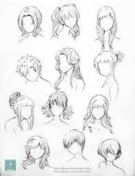 épinglé Par Cerisier Sur Tuto Dessin Cheveux Dessin