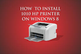 how to install hp 1010 printer for windows 8 driver included see description
