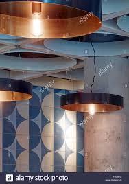italian pendant lighting. Detail Of Circular Pendant Lights. Jamie\u0027s Italian, More London, United Kingdom. Architect: Stiff + Trevillion Architect Italian Lighting