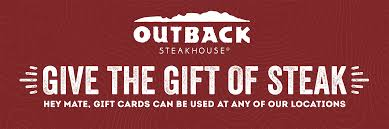 Outback Steakhouse: Gift card