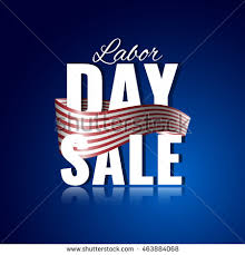 labor day theme labor day sale abstract american theme stock vector 463444877
