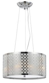 elegant drum pendant light fixture in house decor inspiration