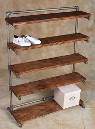 Pvc Pipe Bookshelf Pipe Comes In Rust Sandblast Black Or Bronze Finishes Projects